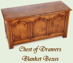 Chest of Drawers - Blanket Boxes