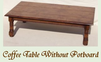 Coffee Table Without Potboard