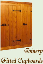 Joinery - Fitted Cupboards