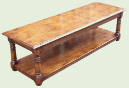 The Oak Pippy Coffee Table
