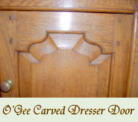 O'Gee Carved Dresser Door