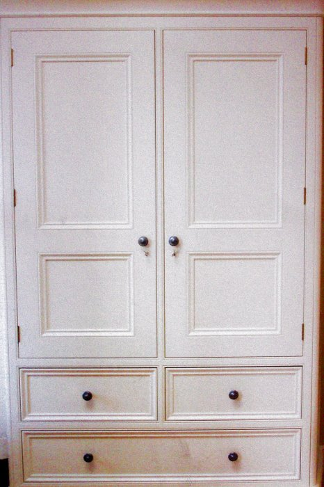 The Painted Bedroom Cupboard