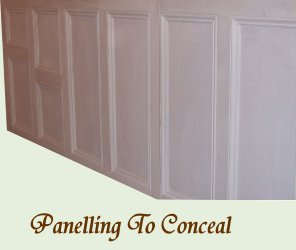 Panelling to Conceal