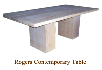 Roger Contemporary Table
